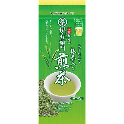 from Japan!Japanese Green Tea IYEMON CHA Matcha blend sencha 100g free shipping
