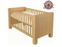 Kidsmill KUBUS White Oak Cot Bed