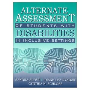 BRAND NEW Alternate assessment of students with disabilities