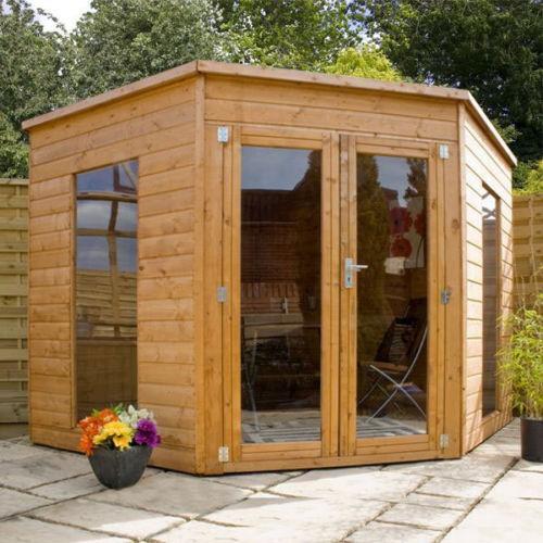 Contemporary Summer House Garden Sheds Ebay