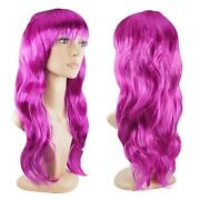 Long Purple Cosplay Wig