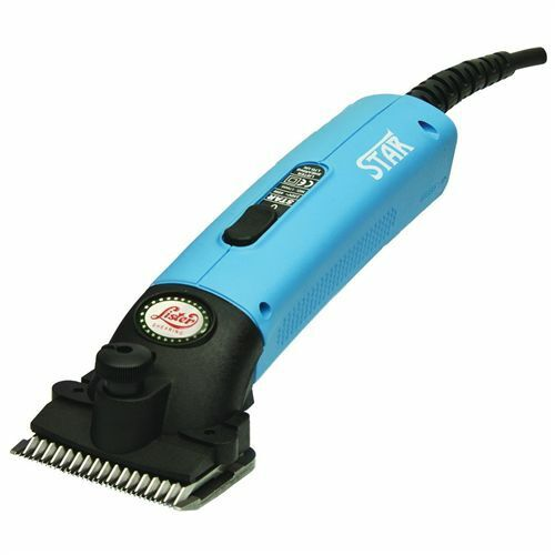 Lister Star Large Animal Clipper with Fine Blade for Horses /Turquoise/
