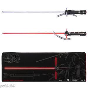 Star Wars The Black Series sabre laser 1//1 Force FX Lightsaber KYLO REN