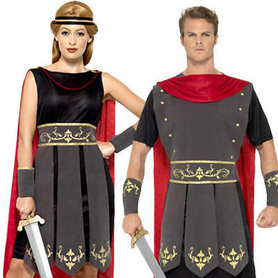 Roman Soldier Gladiator Adult Fancy Dress Ancient Greek Rome Warrior Costume - Ancient Greek Warrior Costume