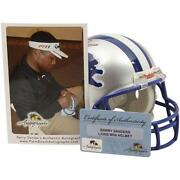 Barry Sanders Mini Helmet