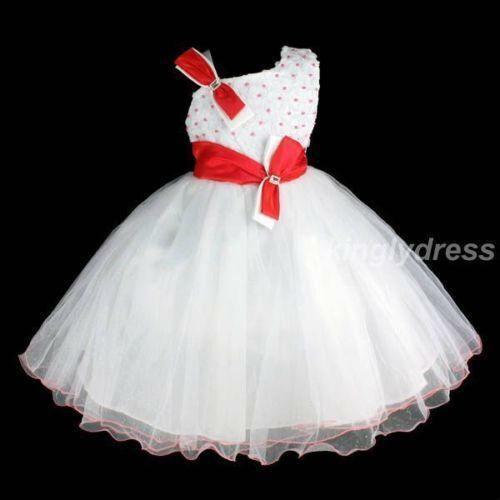 Girls Party Dress Size 8 Ebay