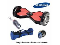 SMART Balance Wheel Scooter HoverBoard Segway Hover Board + Bag + Remote + Bluetooth