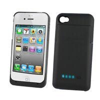 WHITE Batterie Etui Boitier iPhone 4 4S External Battery Case