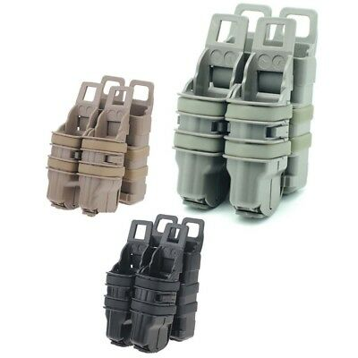 FMA Fast Attach Molle System Rifle 5.56 Mag/Pistol Double Magazine Pouch