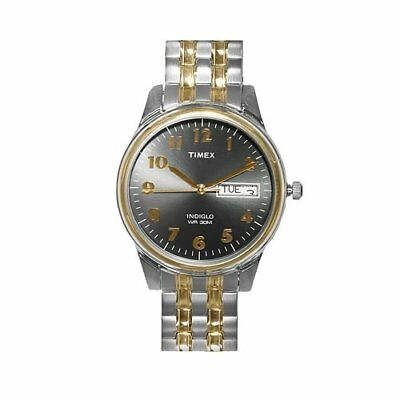 Timex Men's Grey Dial Two Tone Expansion Watch T26481