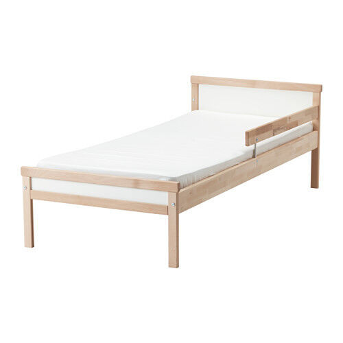 Ikea Singlar bed with slatted bed base and mattress