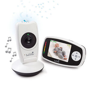 "Summer Infant Baby Glow 2.8"" Digital Video Monitor - White, New"