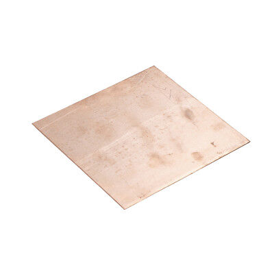 Hot Sale 99.9 Pure Copper Cu Metal Sheet Plate 100x100x1mm Fashion New-v
