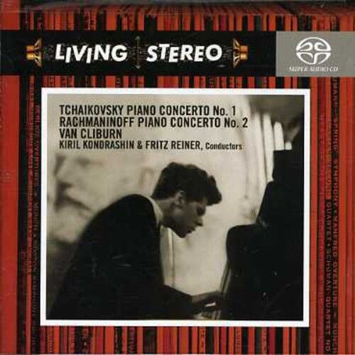 Van Cliburn - Piano Concerto No 1 / Piano Concerto No 2 [New SACD] Hybrid SACD