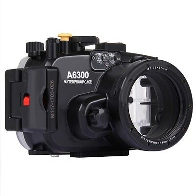 Sony A6300 Camera 40m Waterproof Underwater Housing For Depth Diving NEW