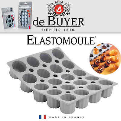 - de Buyer - ELASTOMOULE - 20 Mini Cannelé
