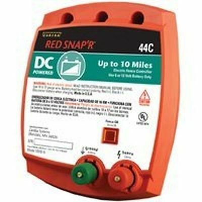 NEW RED SNAP'R 44C 12V 10 MILE FENCE CONTROLLER CHARGER NEW SOLID USA MADE SALE