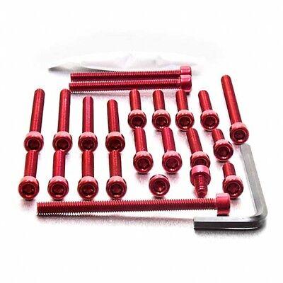 PRO BOLT ALUMINIUM ENGINE BOLT KIT   RED EYA056R <em>YAMAHA</em> YZF R125 08