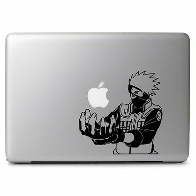 Kakashi Chidori Naruto Vinyl Decal Sticker for Apple MacBook Pro Air Mac 13 15""