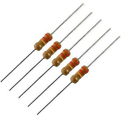5 Pack -- 1 Watt 5 Carbon Film Resistors - 22k Ohm