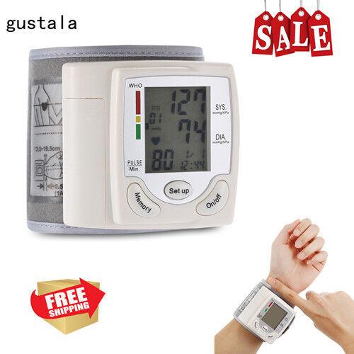 Health Care Wrist Portable Digital Automatic Blood Pressure