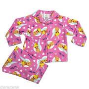 Girls Brushed Cotton Pyjamas