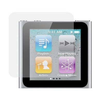 Crystal Clear Screen Protector for Apple iPod Nano 6th Gen Pk Ipod Nano