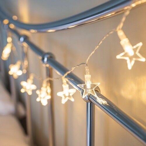10 LED Star Lights - Brand New - Kilmarnock Area