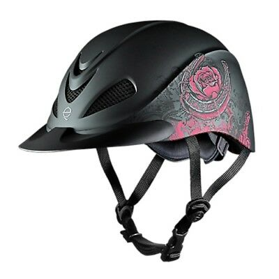 - Troxel Rebel Rodeo Horse Riding Helmet SureFit Pro Removable Headliner Prints