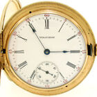 Solid Gold Antique Pocket Watches with Large Numerals