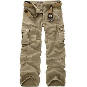 Work Trousers Mens Cargo Trousers Ebay