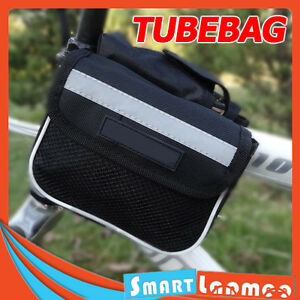 Bike-Front-Tube-Bag-Bicycle-Frame-Pouch-Phone-Mobile-Cycling-Accessories-AU