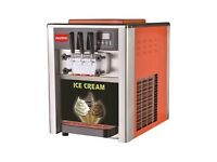 BRAND NEW! Two in One Ice Cream Machine Production Capacity: 18 Litre Capacity