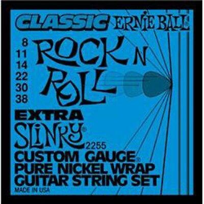 - Ernie Ball 2255 Extra Slinky Pure Nickel Wrap Electric Guitar Strings Free Ship