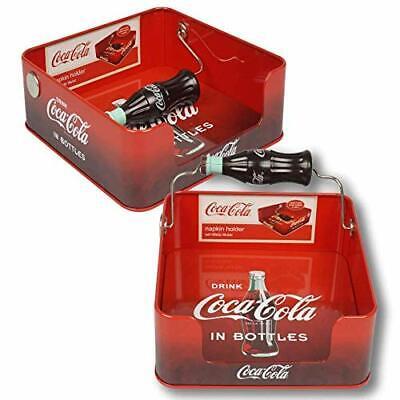 Coke Coca Cola Tin Flat Napkin Holder Dispenser!