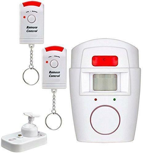 Mbangde Wireless Security Alert Alarm Indoor/Outdoor Wall Mounted PIR Infrared