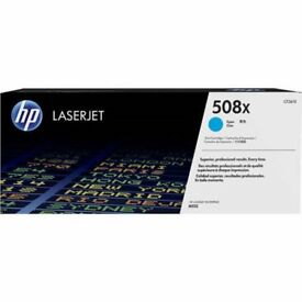 GENUINE HP CF361X / 508X HIGH CAPACITY CYAN LASER PRINTER TONER CARTRIDGE