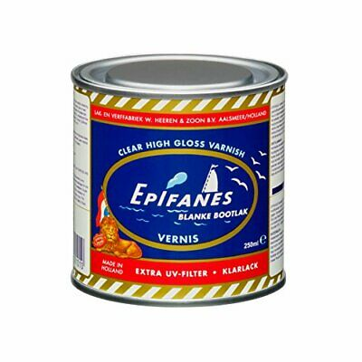 Interior & Exterior Marine Spar Varnish w/ High Gloss Finish -