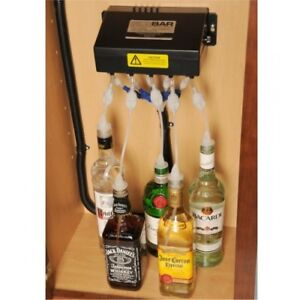 *** Sidebar Liquor Dispenser & Bar Cabinet *** 12v or 120v