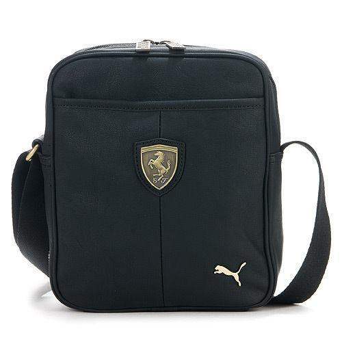 d55a26f299 Puma Leather Bag