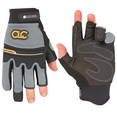 Clc Custom Leather Craft 140l Flexgrip Fingerless Pro Framer Xc Gloves Large