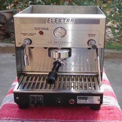 Espresso Cappuccino Latte Mocha Machine Elektra