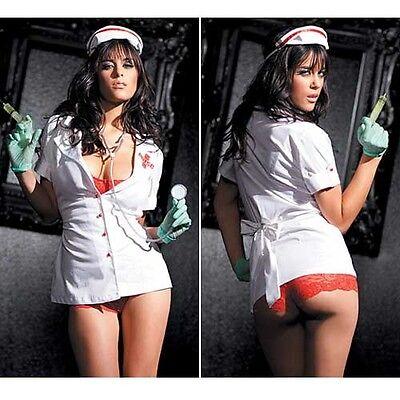 Fantasy Lingerie Naughty Nurse Uniform
