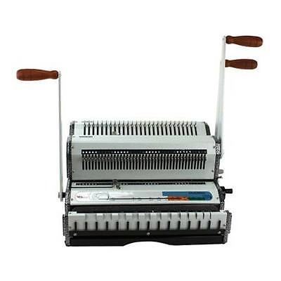 New Akiles Wiremac-duo Combo Wire Binding Machine - Free Shipping