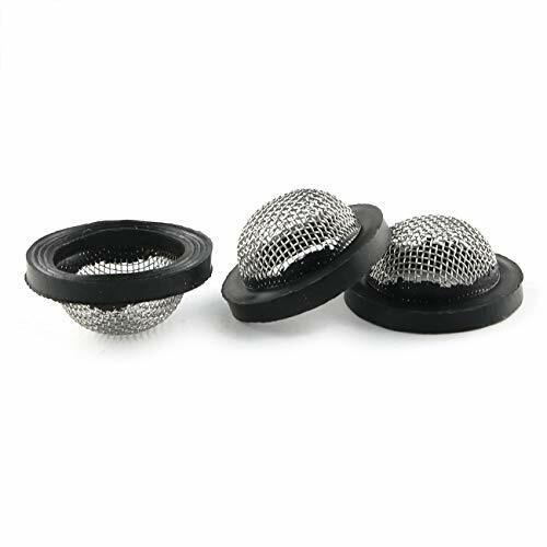 Hose Coupling Filter 20PCS Stainless Steel Washers Inlet Filters Hose Screen