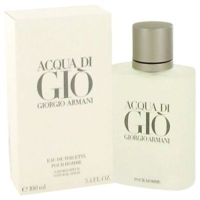Acqua Di Gio by Giorgio Armani 3.4 oz EDT Cologne for Men New In Box