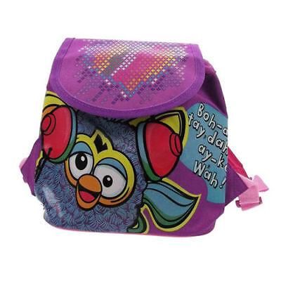 Furby Girls Kids Mini Backpack Rucksack School Bag New Official