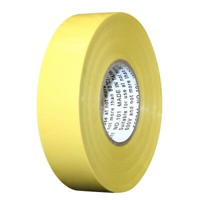Intertape 4116 60 All Weather Colored Electrical Marking Tape Yellow