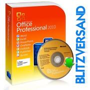 Microsoft Office 2010 Professional Deutsch
