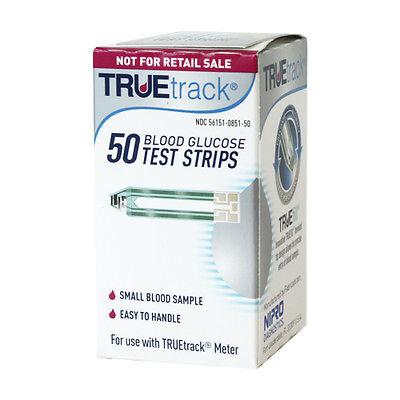 TRUETrack Blood Glucose 50 Test Strips  Exp:01/25/2021